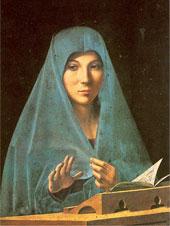 Annunciata, Antonello da Messina (1475)