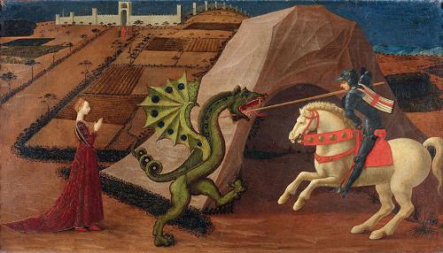 Paolo Uccello San Giorgio e il drago, c. 1440