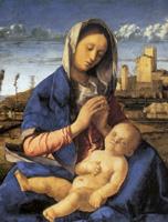 Giovanni Bellini, Madonna del Prato 1500-1505. Londra, National Gallery.