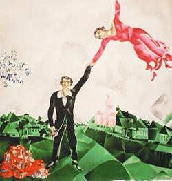 M. Chagall, La passeggiata, 1917-18