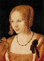 A. Dürer, Dama veneziana (1505)