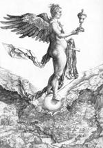 A. Dürer, La Fortuna (1502)