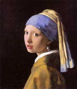 La fanciulla con l'orecchino di perla, di Vermeer