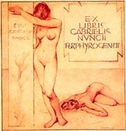 G. A. Sartorio, ex libris per Gabriele D'Annunzio