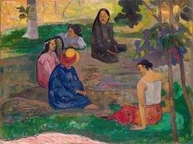 Paul Gauguin, La conversazione (1891)