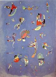 W. Kandinsky, Ciel bleu
