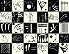W. Kandinsky, Trente, Centre Pompidou