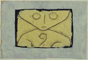 Paul Klee, Spirito di una lettera, 1937