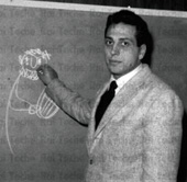 Il maestro Alberto Manzi