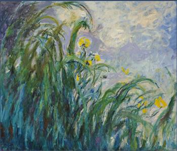 Claude Monet, Gli iris gialli (1924-25)