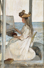 Giovanni Fattori, La scolarina, 1893