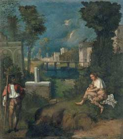 La tempesta, di Giorgione