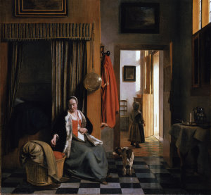 Gerard ter Borch, La madre, c. 1663-65 (Gemäldegalerie, Staatliche Museen Preussischer Kulturbesitz, Berlin)